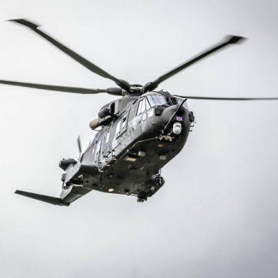 Prezentacja wojskowego śmigłowca AW101