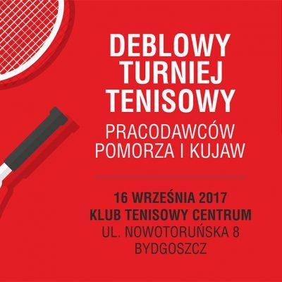 Deblowy Turniej Tenisowy Pracodawców Pomorza i Kujaw 2017